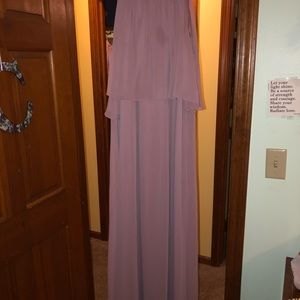 Beautiful David's bridal bridesmaid dress